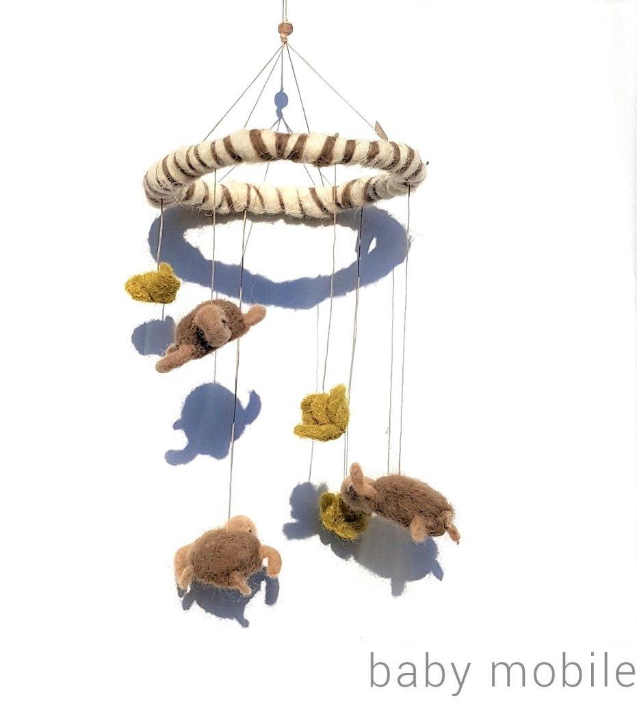 giochi di lana baby mobiles