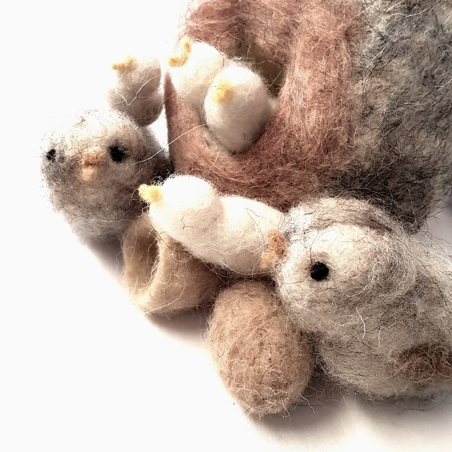 giochi di lana il nido degli uccellini