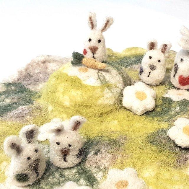 giochi di lana la collina dei conigli