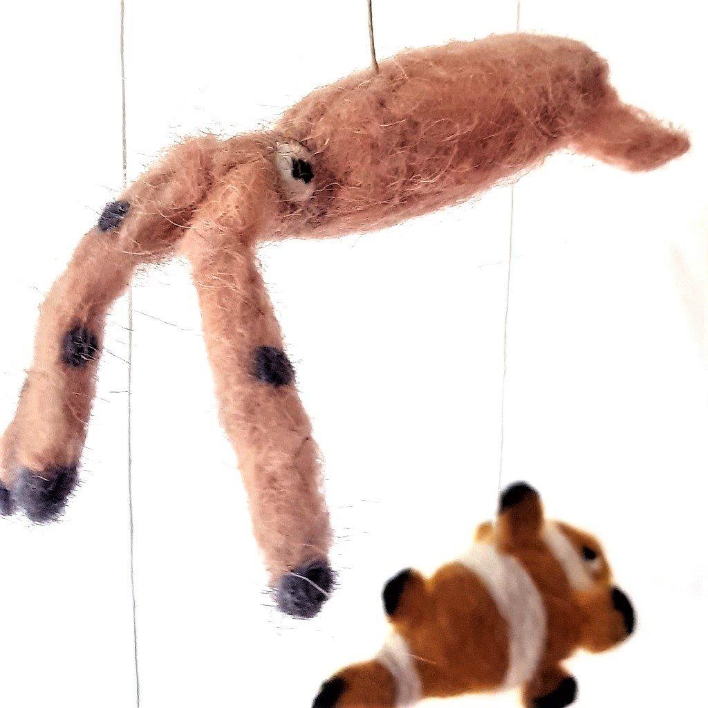 giochi di lana baby mobile mare