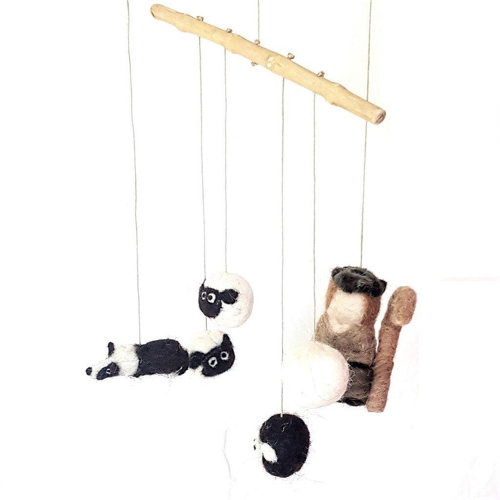 giochi di lana baby mobile sheepdog