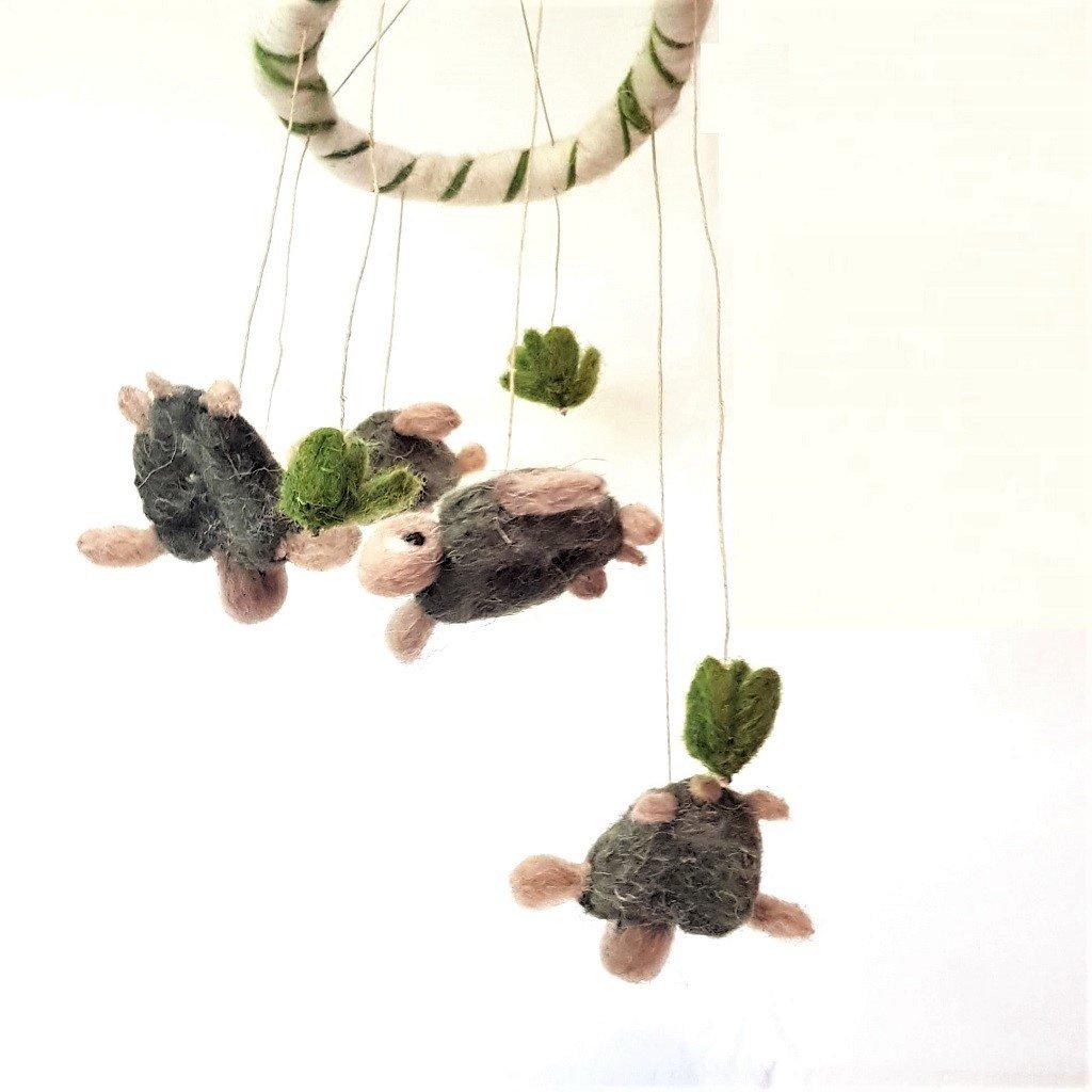 giochi di lana baby mobile tartarughe