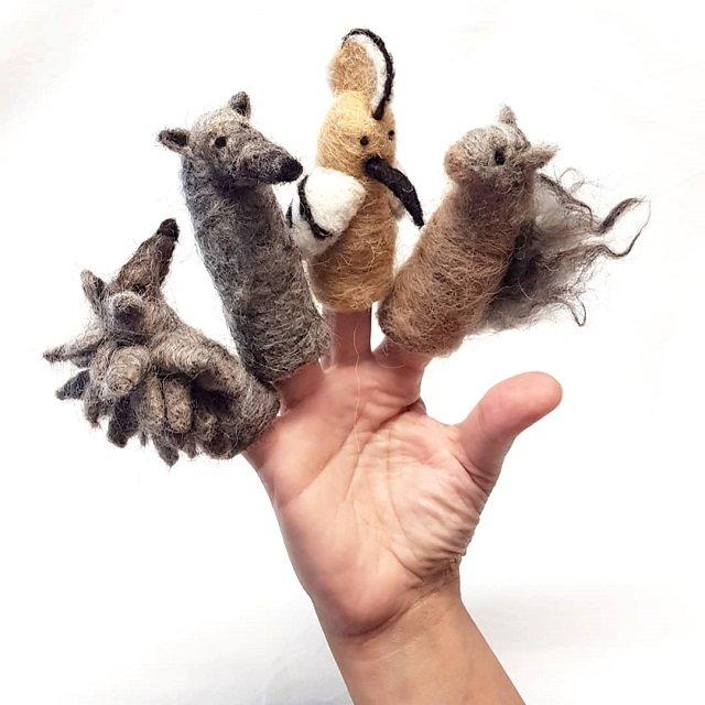 4-riccio-lupo-upupa-scoiattolo-i-diti-ahimsaamoredilana