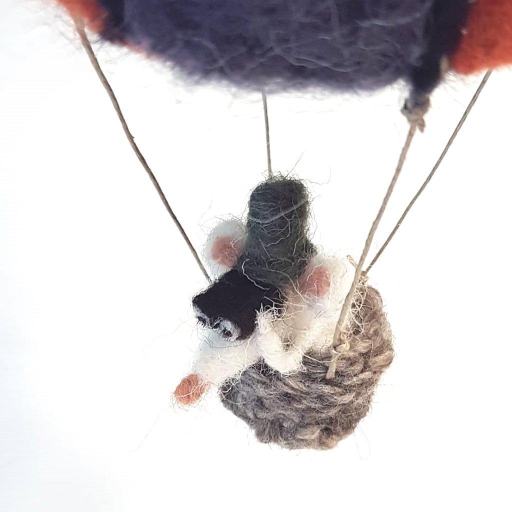 baby mobile mongolfiera