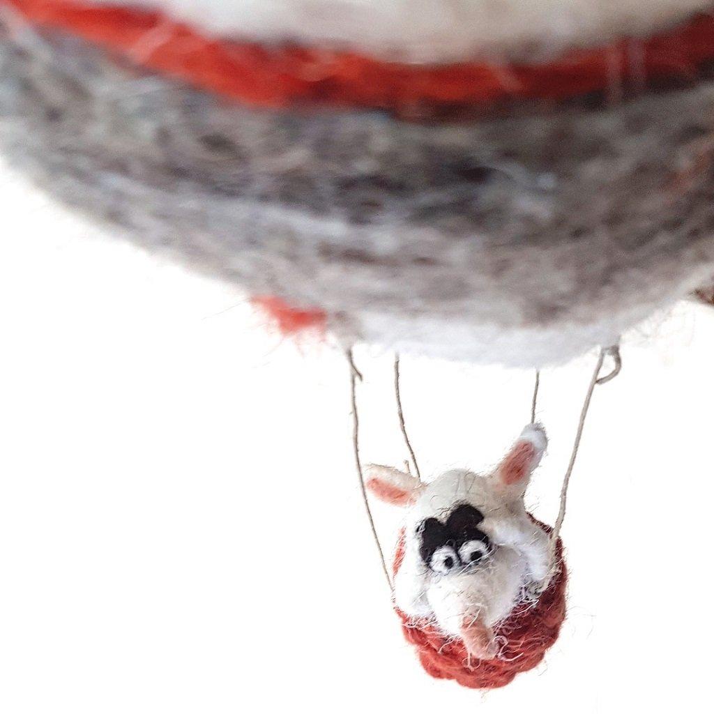 giochi di lana baby mobile mongolfiera