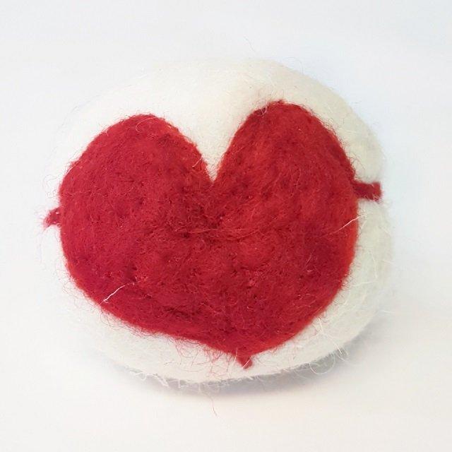 cuore con filo bolle di sapone edizione primavera